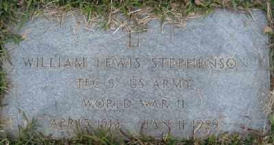 STEPHENSON (VETERAN WWII), WILLIAM LEWIS - Ashley County, Arkansas | WILLIAM LEWIS STEPHENSON (VETERAN WWII) - Arkansas Gravestone Photos