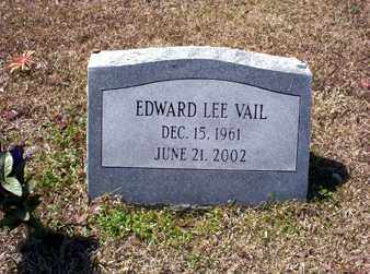 VAIL, EDWARD LEE - Ashley County, Arkansas | EDWARD LEE VAIL - Arkansas Gravestone Photos
