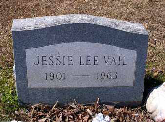 VAIL, JESSIE LEE - Ashley County, Arkansas | JESSIE LEE VAIL - Arkansas Gravestone Photos
