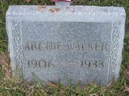 WALKER, ARCHIE - Ashley County, Arkansas | ARCHIE WALKER - Arkansas Gravestone Photos