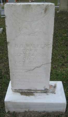 WALKER, B B - Ashley County, Arkansas   B B WALKER - Arkansas Gravestone Photos
