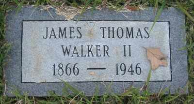WALKER II, JAMES THOMAS - Ashley County, Arkansas | JAMES THOMAS WALKER II - Arkansas Gravestone Photos