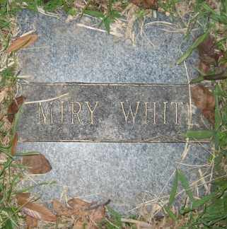 WHITE, MIRY - Ashley County, Arkansas | MIRY WHITE - Arkansas Gravestone Photos