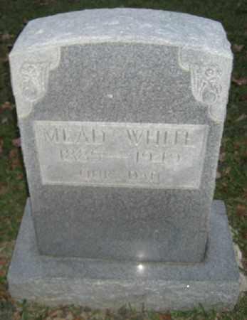 WHITE, MEAD - Ashley County, Arkansas | MEAD WHITE - Arkansas Gravestone Photos