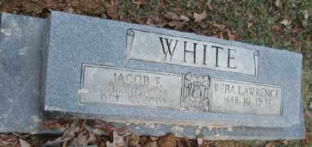 WHITE (VETERAN WWII), JACOB F. - Ashley County, Arkansas | JACOB F. WHITE (VETERAN WWII) - Arkansas Gravestone Photos