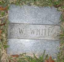 WHITE, W. - Ashley County, Arkansas | W. WHITE - Arkansas Gravestone Photos