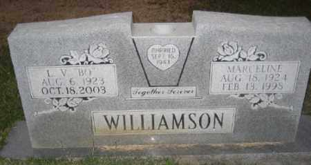 WILLIAMSON, MARCELINE - Ashley County, Arkansas | MARCELINE WILLIAMSON - Arkansas Gravestone Photos