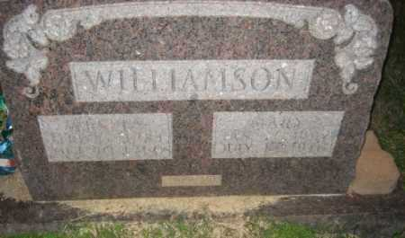 WILLIAMSON, WESLEY - Ashley County, Arkansas | WESLEY WILLIAMSON - Arkansas Gravestone Photos