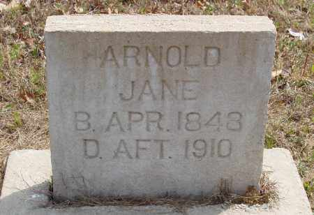 ARNOLD, JANE - Baxter County, Arkansas | JANE ARNOLD - Arkansas Gravestone Photos