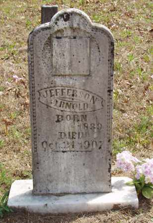 ARNOLD (VETERAN CSA), JEFFERSON - Baxter County, Arkansas | JEFFERSON ARNOLD (VETERAN CSA) - Arkansas Gravestone Photos