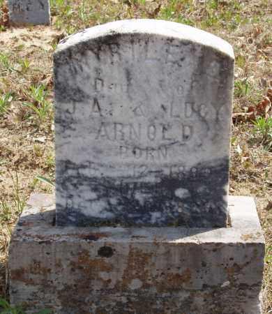 ARNOLD, MYRTLE - Baxter County, Arkansas | MYRTLE ARNOLD - Arkansas Gravestone Photos