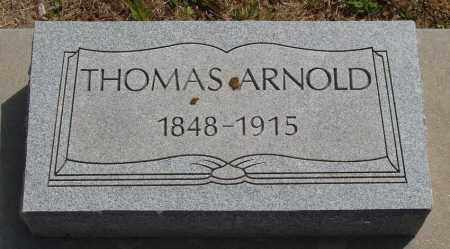 ARNOLD, THOMAS - Baxter County, Arkansas | THOMAS ARNOLD - Arkansas Gravestone Photos