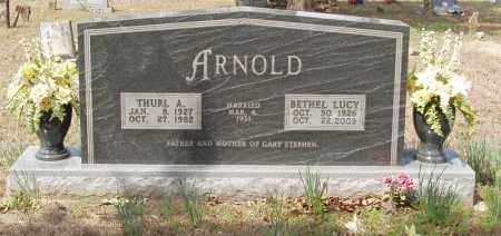 ARNOLD, THURL A - Baxter County, Arkansas | THURL A ARNOLD - Arkansas Gravestone Photos