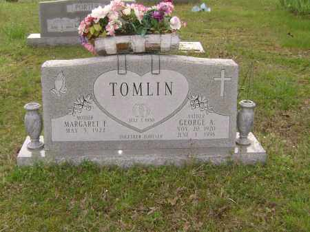 TOMLIN (2), GEORGE A. - Baxter County, Arkansas | GEORGE A. TOMLIN (2) - Arkansas Gravestone Photos