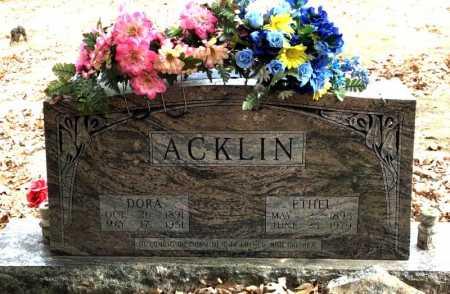 ACKLIN, DORA - Baxter County, Arkansas | DORA ACKLIN - Arkansas Gravestone Photos