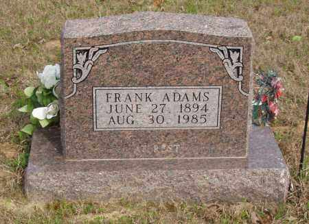 ADAMS, FRANK - Baxter County, Arkansas | FRANK ADAMS - Arkansas Gravestone Photos
