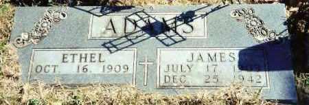 ADAMS, JAMES - Baxter County, Arkansas | JAMES ADAMS - Arkansas Gravestone Photos