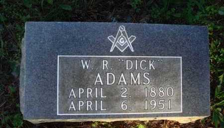 "ADAMS, W. R. ""DICK"" - Baxter County, Arkansas 