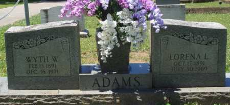 ADAMS ALLMAN, LORENA L. - Baxter County, Arkansas | LORENA L. ADAMS ALLMAN - Arkansas Gravestone Photos