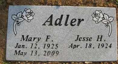 ADLER, MARY F. - Baxter County, Arkansas | MARY F. ADLER - Arkansas Gravestone Photos