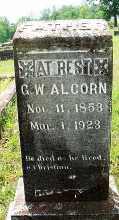 ALCORN, G W - Baxter County, Arkansas | G W ALCORN - Arkansas Gravestone Photos