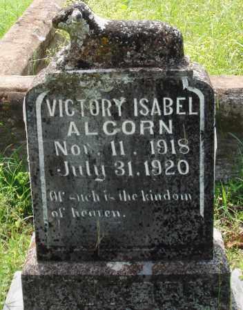 ALCORN, VICTORY ISABEL - Baxter County, Arkansas   VICTORY ISABEL ALCORN - Arkansas Gravestone Photos