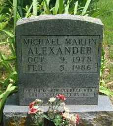 ALEXANDER, MICHAEL MARTIN - Baxter County, Arkansas | MICHAEL MARTIN ALEXANDER - Arkansas Gravestone Photos