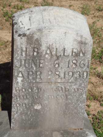 ALLEN, H. B. - Baxter County, Arkansas | H. B. ALLEN - Arkansas Gravestone Photos