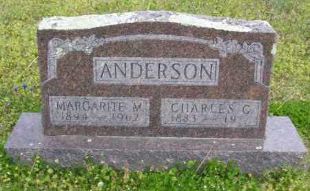ANDERSON, CHARLES C. - Baxter County, Arkansas | CHARLES C. ANDERSON - Arkansas Gravestone Photos