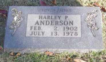 ANDERSON, HARLEY P. - Baxter County, Arkansas | HARLEY P. ANDERSON - Arkansas Gravestone Photos