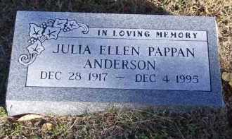 ANDERSON, JULIA ELLEN - Baxter County, Arkansas | JULIA ELLEN ANDERSON - Arkansas Gravestone Photos