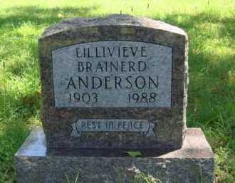 ANDERSON, LILLIVIEVE - Baxter County, Arkansas | LILLIVIEVE ANDERSON - Arkansas Gravestone Photos