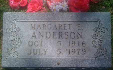 ANDERSON, MARGARET E. - Baxter County, Arkansas | MARGARET E. ANDERSON - Arkansas Gravestone Photos