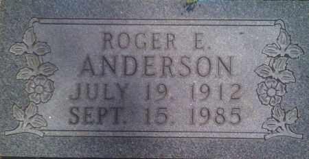 ANDERSON, ROGER E. - Baxter County, Arkansas | ROGER E. ANDERSON - Arkansas Gravestone Photos