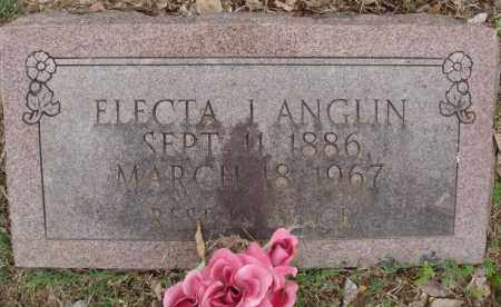 ANGLIN, ELECTA J - Baxter County, Arkansas | ELECTA J ANGLIN - Arkansas Gravestone Photos
