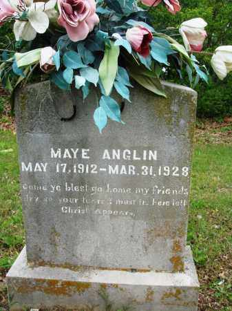 ANGLIN, MAYE - Baxter County, Arkansas | MAYE ANGLIN - Arkansas Gravestone Photos