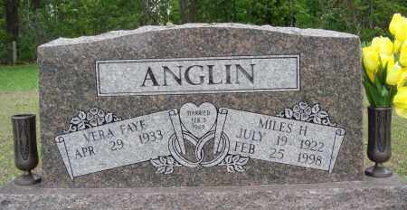 ANGLIN, MILES H - Baxter County, Arkansas | MILES H ANGLIN - Arkansas Gravestone Photos