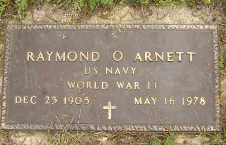 ARNETT (VETERAN WWII), RAYMOND O. - Baxter County, Arkansas | RAYMOND O. ARNETT (VETERAN WWII) - Arkansas Gravestone Photos