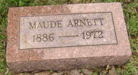 ARNETT, MAUDE - Baxter County, Arkansas | MAUDE ARNETT - Arkansas Gravestone Photos