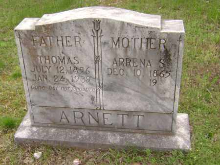 ARNETT, THOMAS - Baxter County, Arkansas | THOMAS ARNETT - Arkansas Gravestone Photos