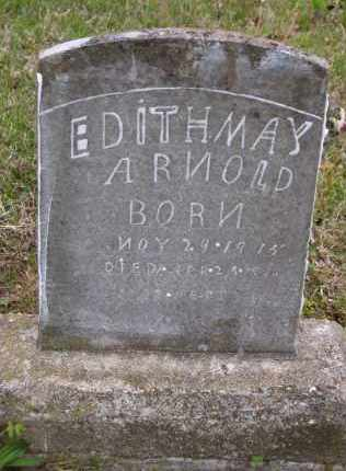 ARNOLD, EDITH MAY - Baxter County, Arkansas | EDITH MAY ARNOLD - Arkansas Gravestone Photos