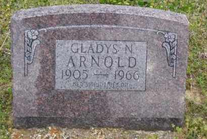 BROWN ARNOLD, GLADYS N - Baxter County, Arkansas | GLADYS N BROWN ARNOLD - Arkansas Gravestone Photos