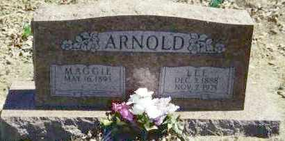 ARNOLD, MAGGIE - Baxter County, Arkansas | MAGGIE ARNOLD - Arkansas Gravestone Photos