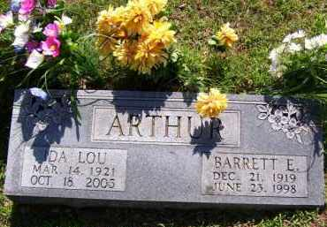ARTHUR, BARRETT ELLSWORTH - Baxter County, Arkansas | BARRETT ELLSWORTH ARTHUR - Arkansas Gravestone Photos