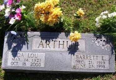 ARTHUR, IDA LOU - Baxter County, Arkansas | IDA LOU ARTHUR - Arkansas Gravestone Photos