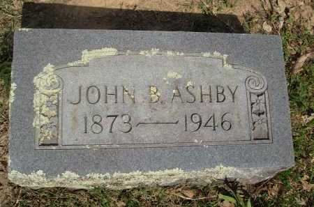 ASHBY, JOHN B. - Baxter County, Arkansas | JOHN B. ASHBY - Arkansas Gravestone Photos