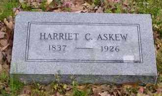 ASKEW, HARRIET C - Baxter County, Arkansas | HARRIET C ASKEW - Arkansas Gravestone Photos
