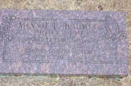 BAGWELL BRANSCUM, MINNIE LENORA - Baxter County, Arkansas | MINNIE LENORA BAGWELL BRANSCUM - Arkansas Gravestone Photos