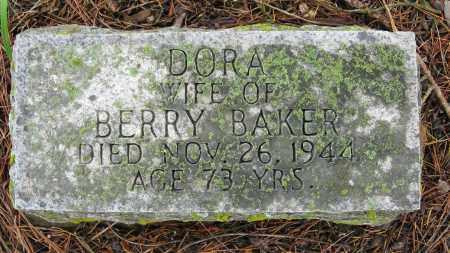 BAKER, DORA - Baxter County, Arkansas | DORA BAKER - Arkansas Gravestone Photos