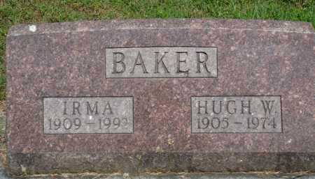 BAKER, HUGH W. - Baxter County, Arkansas | HUGH W. BAKER - Arkansas Gravestone Photos